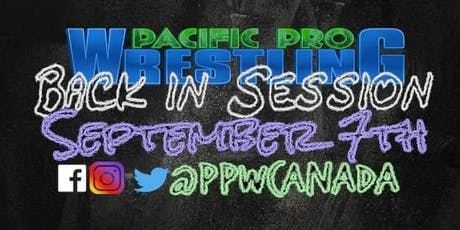 PPW Back In Session tickets