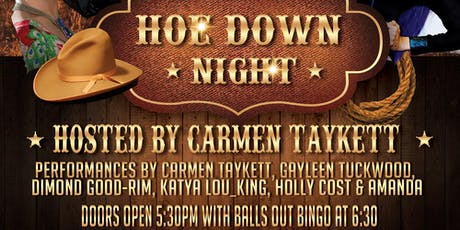 Outback Divas - HOEDOWN NIGHT tickets