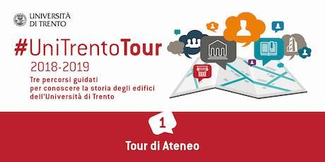 Visita guidata Tour di Ateneo tickets