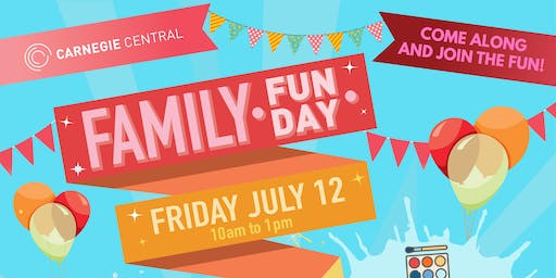 Carnegie Central Family Fun Day - Craft Workshops