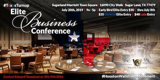#TexasTurnup Elite Business Conference