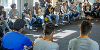 """Barcamp """"JUNG – MIGRANTISCH – POLITISCH AKTIV"""""""