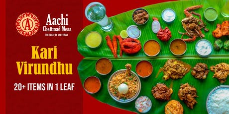 Kari Virundhu - South Indian Non Veg Banana Leaf Fest tickets
