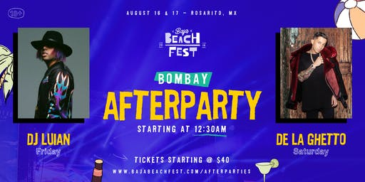 Bombay Baja Beach Fest Afterparty