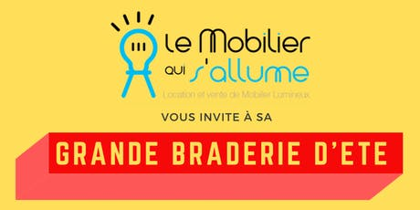 GRANDE BRADERIE D'ETE - 18/07/19 billets