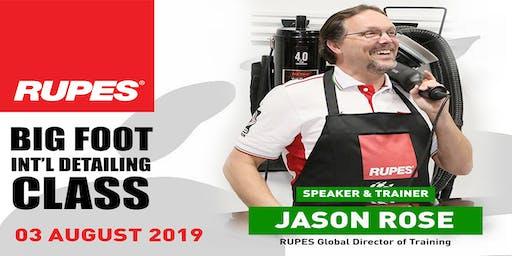 RUPES Philippines Detailing Seminar with Jason Rose