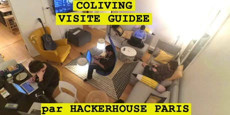 Coliving - Visite guidée par HACKERHOUSE • Paris billets
