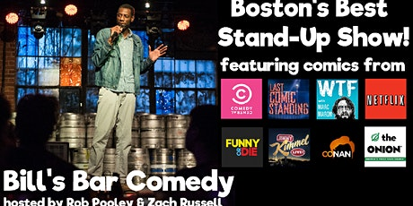 Comedy at Bill's Bar tickets