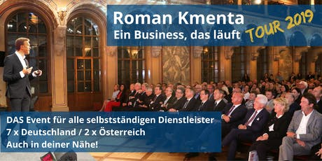 Hamburg - Roman Kmenta -  Ein Business, das läuft - Tour 2019 Tickets