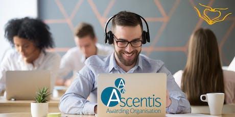 Ascentis ESOL Quality Assurance Webinar tickets