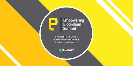 Empowering Blockchain Summit 2019 tickets