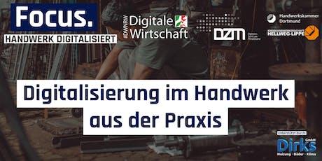 FOCUS.Handwerk Digitalisiert tickets