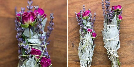 Create a Sage & Floral Smudge Stick tickets