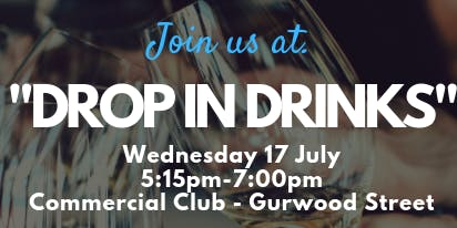 Drop in Drinks - Commercial Club