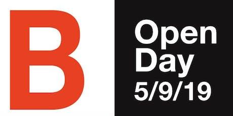 Open Day - 5 settembre 2019 - corsi annuali biglietti