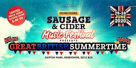Derbyshire Sausage & Cider Music Festival 2020 tickets