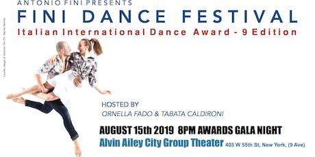 Fini Dance International Gala & Awards tickets