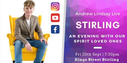 "Andrew Lindsay Medium  Live -  STIRLING ""Spirit on Earth Tour"""