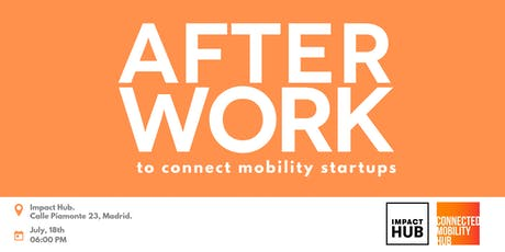 After work: to connect mobility startups entradas