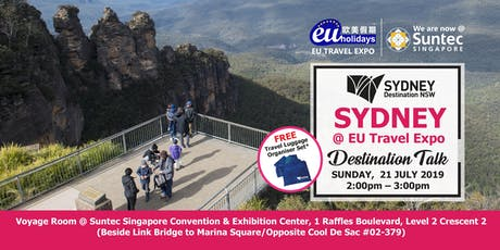Sydney Destination Talk tickets