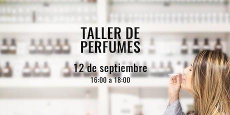 Taller de Perfumes y Cata Olfativa en la Academia del Perfume entradas
