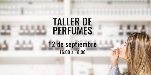 Taller de Perfumes y Cata Olfativa en la Academia del Perfume