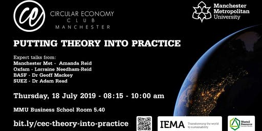 Circular Economy Club Manchester: Putting theory into practice