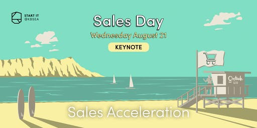 Sales acceleration and Growth Hacking by Michael Humblet and David Van der Auwera #SALESday #keynote #startit@KBSEA
