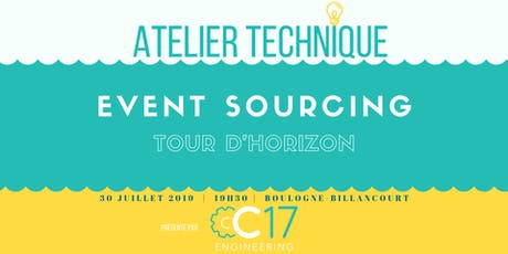 CQRS+Event Sourcing : tour d'horizon billets