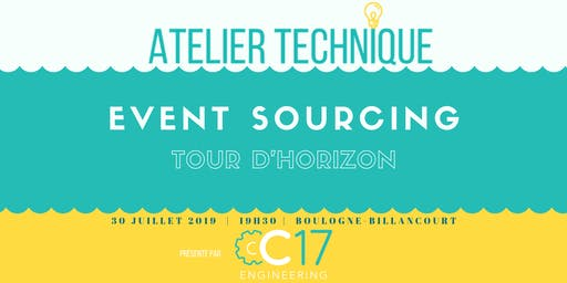 CQRS+Event Sourcing : tour d'horizon