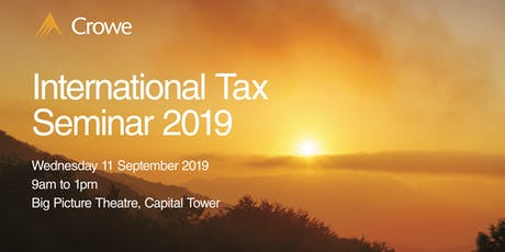 International Tax Seminar 2019 tickets