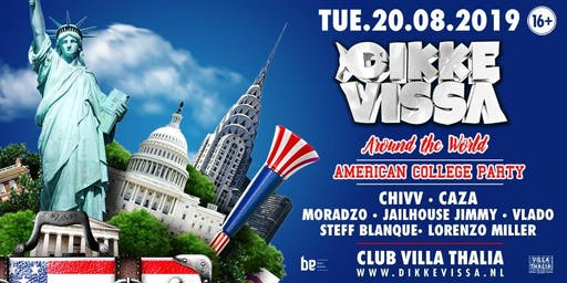 Dikke Vissa - Around The World - American College Party