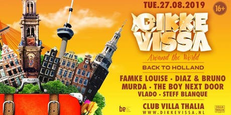 Dikke Vissa - Around The World - Back to Holland tickets