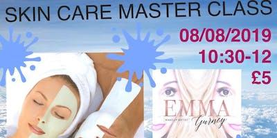 Skincare Master Class