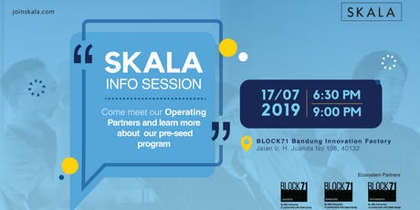[Info Session] SKALA: Metrics-Driven and Growth Focused Pre-Seed Program tickets