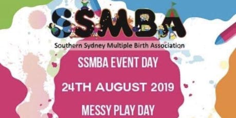 SSMBA Messy Play Day tickets
