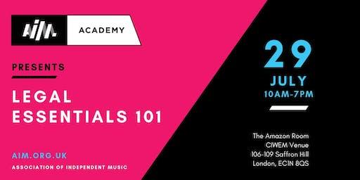 AIM Academy presents: Legal Essentials 101