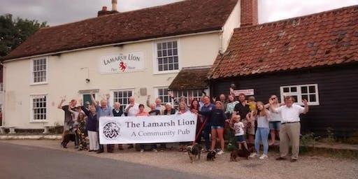More Than A Pub Study Visit To The Lamarsh Lion, Essex