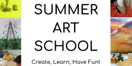 Children's Summer Art School: Drawing School tickets