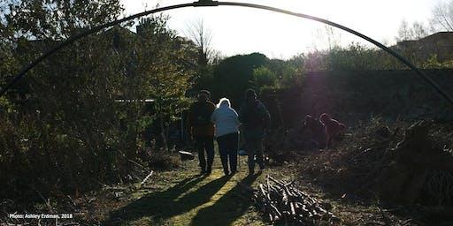 Photographic Workshop at Granton Castle Walled Garden (1)