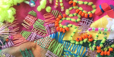 Print your own fabric - stitch and embellishment