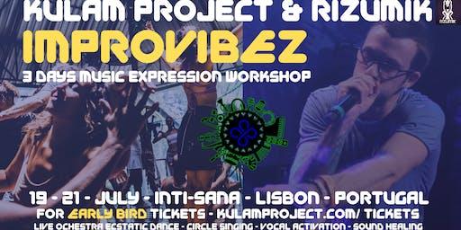 Improvibez - kulam project & rizumik- lisbon