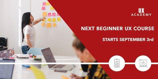 UX Academy - September 2019 - 8 Week Beginner UX Course