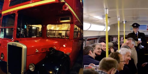 Special West London Routemaster Tour with Tony Pidgley, Berkeley Group