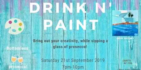 Drink n' Paint Workshop tickets