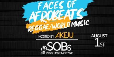 Faces of Afrobeats Reggae/World Music