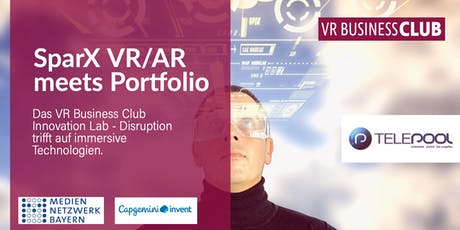Kick-off Event SparX VR/AR meets Portfolio Tickets