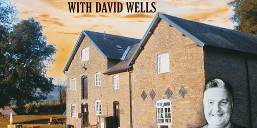 David Wells Past Life Regression Paranormal Weekend- Shropshire- £159 P/P