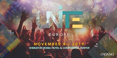 UNITE EUROPE 2019 tickets