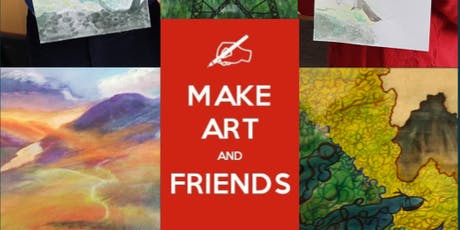 Make Art and Friends Watercolour Painting Course tickets